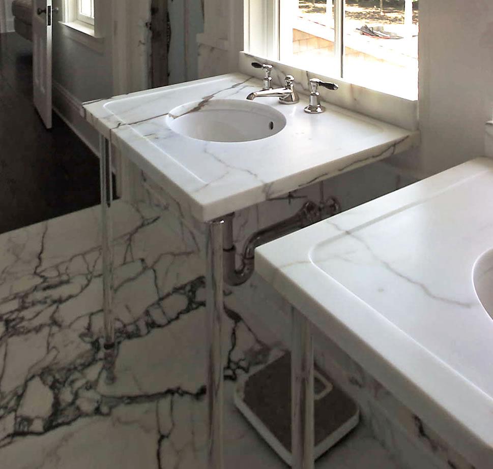 Problems With Soapstone Countertops : Installation bridgehampton stone mosaic hamptons
